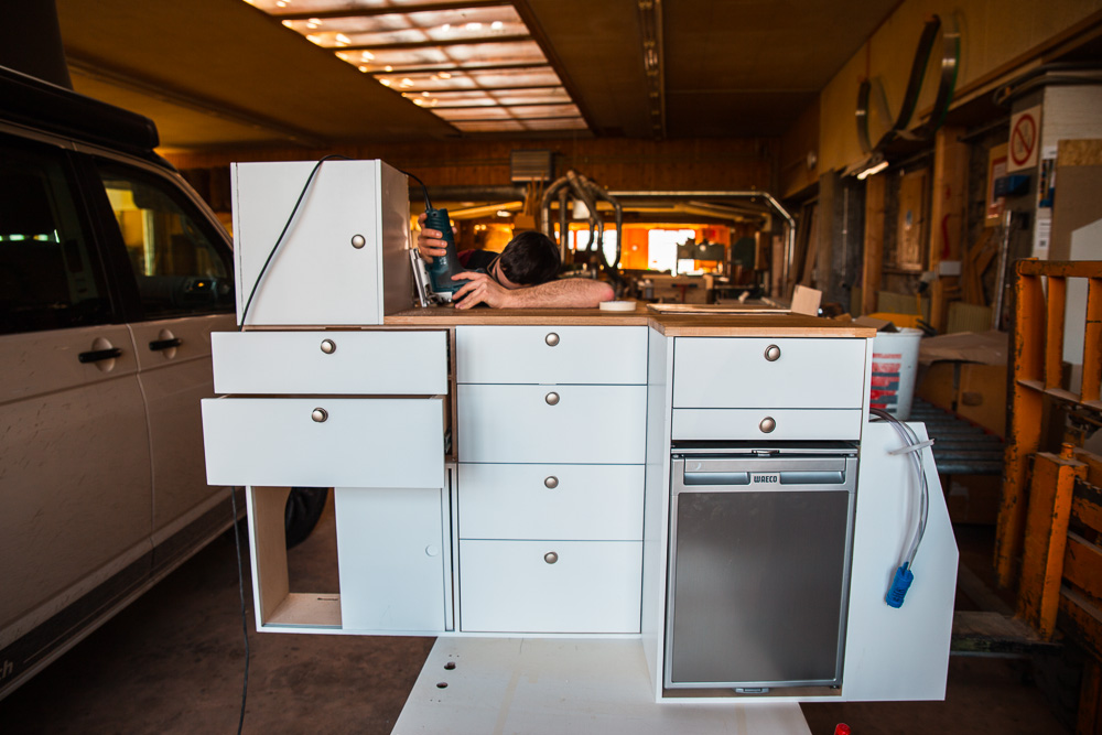 vw t5 t6 innenausbau camperx. Black Bedroom Furniture Sets. Home Design Ideas