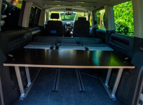 Liegeflächenerweiterung VW Multivan