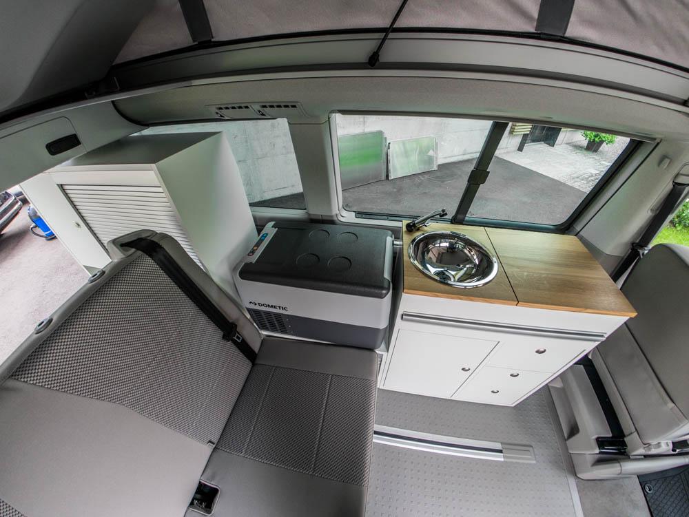 vw t6 und vwt5 california innenausbau von camperx. Black Bedroom Furniture Sets. Home Design Ideas