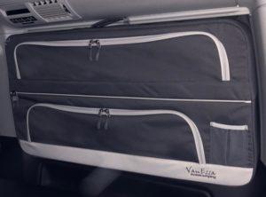 Packtaschen VW T5 / T6 Anthrazit SET