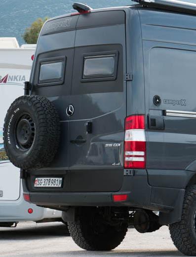 Reserveradträger Mercedes Sprinter
