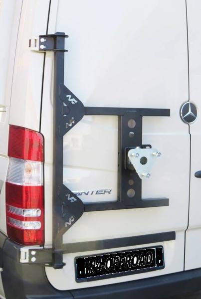 Reserveradträger Sprinter Mercedes 4×4