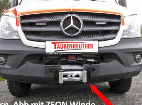 Seilwinde Mercedes Sprinter