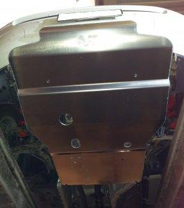 VW T6 Unterbodenschutz