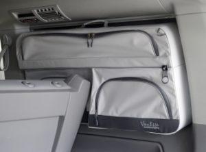 Fenstertaschen VW T5 / T6 2er Bank
