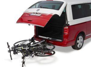 Fahrradtraeger Uebler i21 90° VW T6 VW T5 California AHK