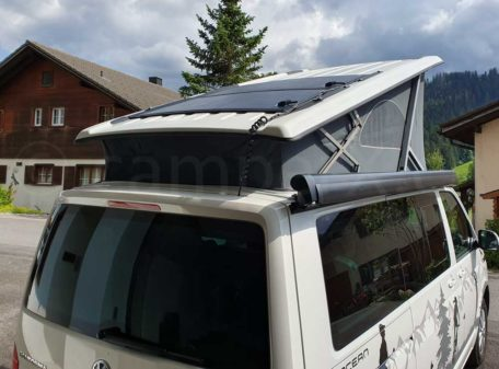 VW California Beach Solar Dach
