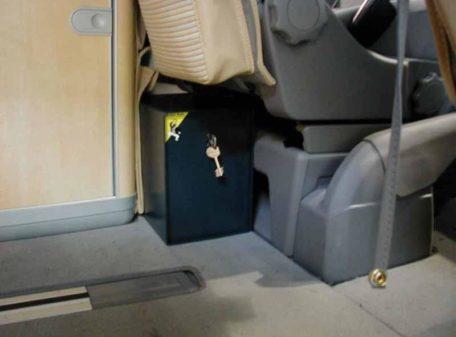 VW California Tresor T6 Safe